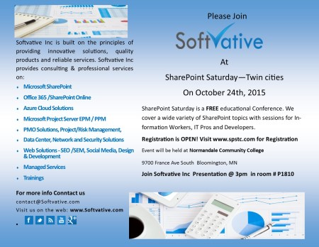 Softvative Sharepoint Saturday 2015