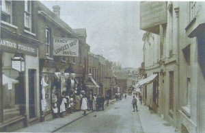 Black boy Inn, Church Street, Basingstoke, Hampshire, UK in 1857