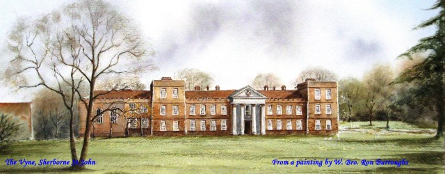 Vyne House painting RB