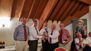 Loddon collect the cup