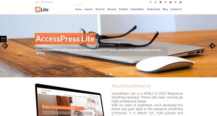 Accesspress Lite Theme
