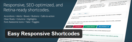 Easy Responsive Shortcodes