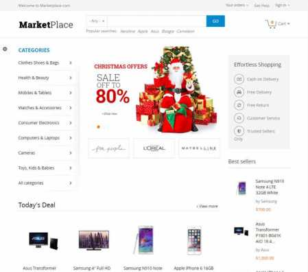 MarketPlace Drupal Theme