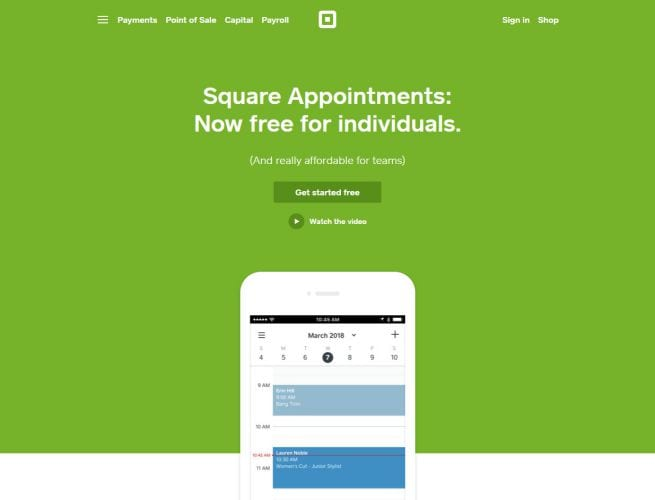 Square Appointments