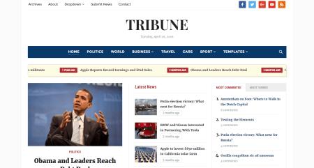 Tribune Theme