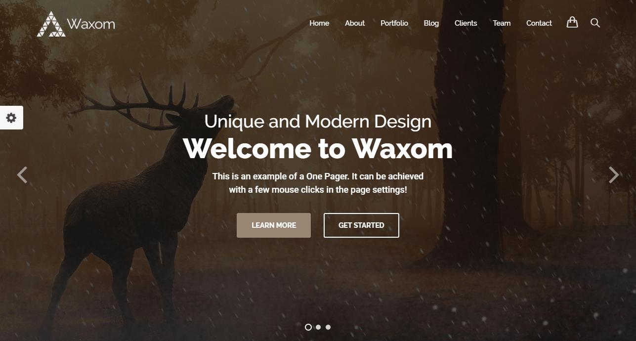 Waxom Theme