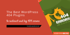 Best WordPress 404 Plugins – Redirect & Log 404 errors 2019