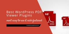 Best WordPress PDF Viewer Plugins 2019