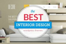 Best Interior WordPress Design Themes For Your Project 2019