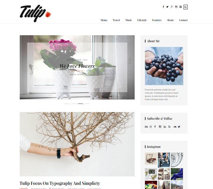 Tulip theme