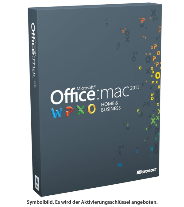Microsoft Office 2011 Home & Business für Mac