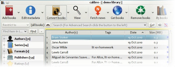 Free eBooks Converter Calibre - Convert eBooks for FREE
