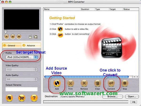 Convert AVI to MP4 on Mac