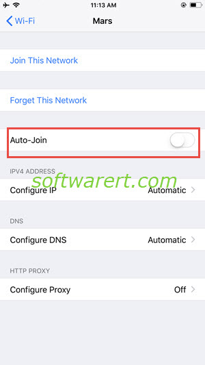 How to stop auto update on iphone 5s