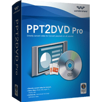 wondershare PPT2DVD Pro box