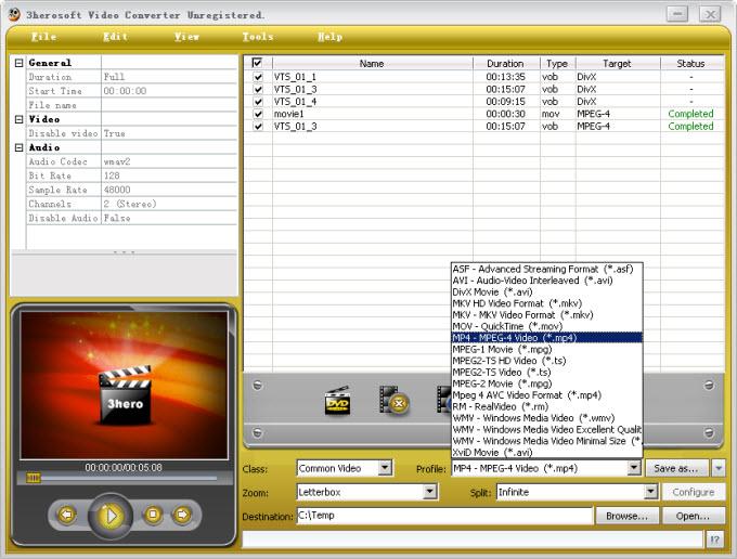 3Herosoft AVI MPEG Converter 3510809