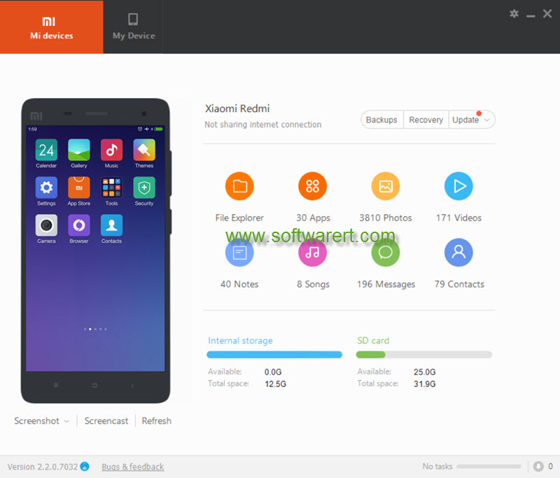Cast screen from Xiaomi & Redmi phone to TV & PC