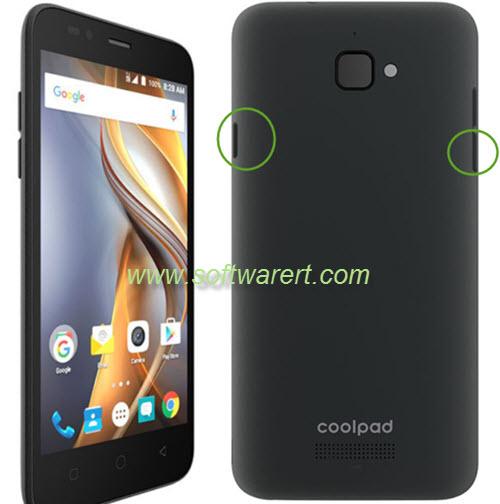 take screenshot on coolpad catalyst phone