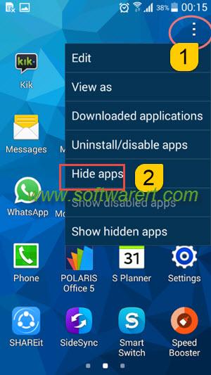 Hidden application