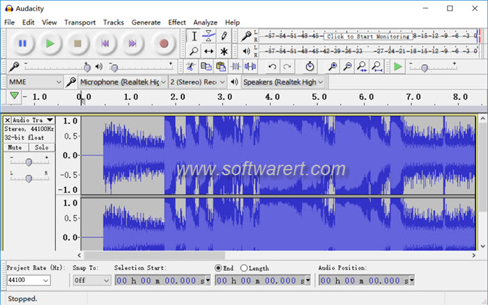 audacity audio recorder edito for windows