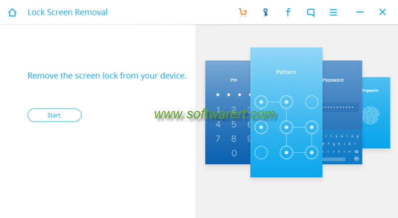 remove android lock screen, password, pin, pattern, code