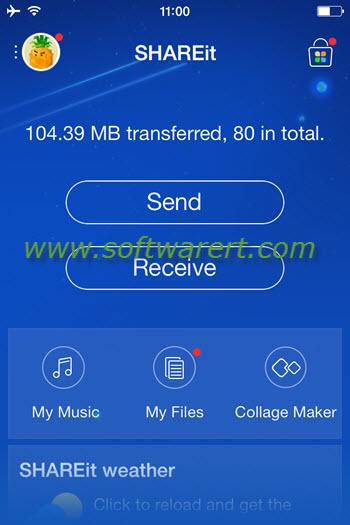 shareit file transfer app iphone
