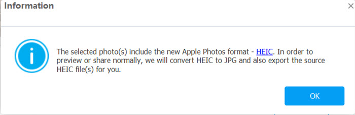 convert iphone heic to jpg using tunesgo on pc