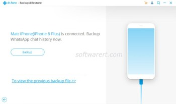 backup whatsapp chat history from iphone to pc dcfon