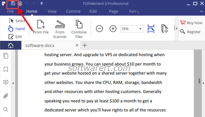 Convert From Docx To Pdf