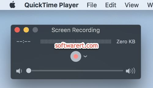 quicktime player screen recording mac