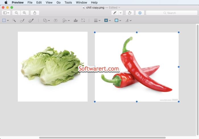 combine photos images in preview on mac