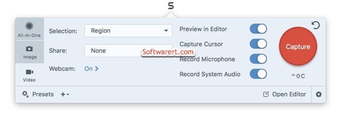 snagit video recorder for mac