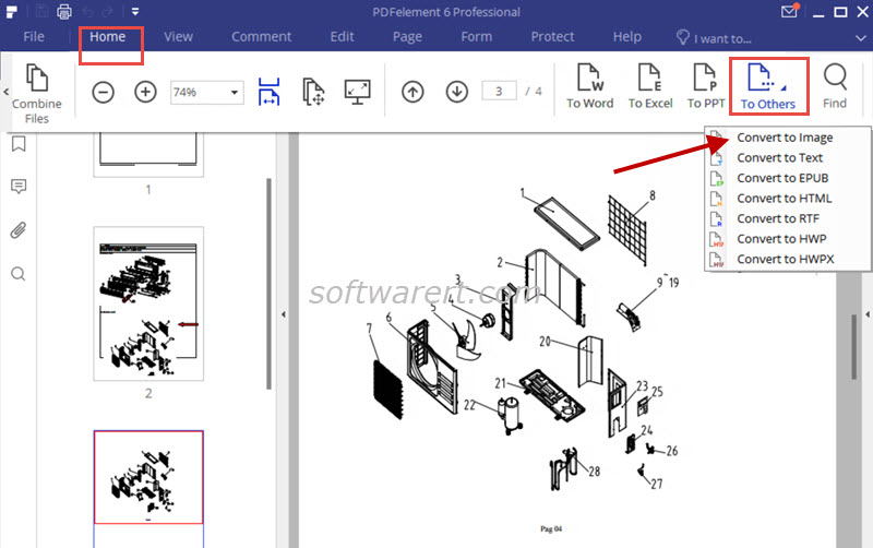 Convert PDF to JPEG, PNG, or other images on PC and Mac