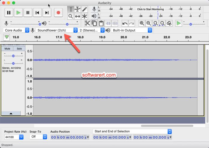 Record internet radio on Mac with Audacity and Soundflower