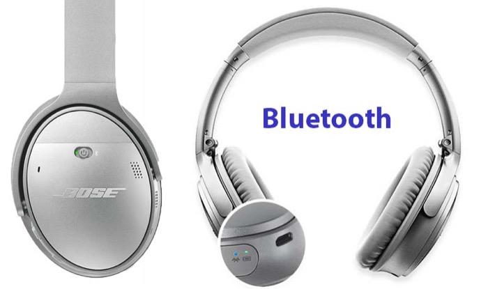 Bose QuietComfort 35 wireless headphone bluetooth connection