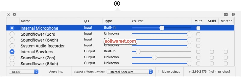 AudioSwitcher for Mac