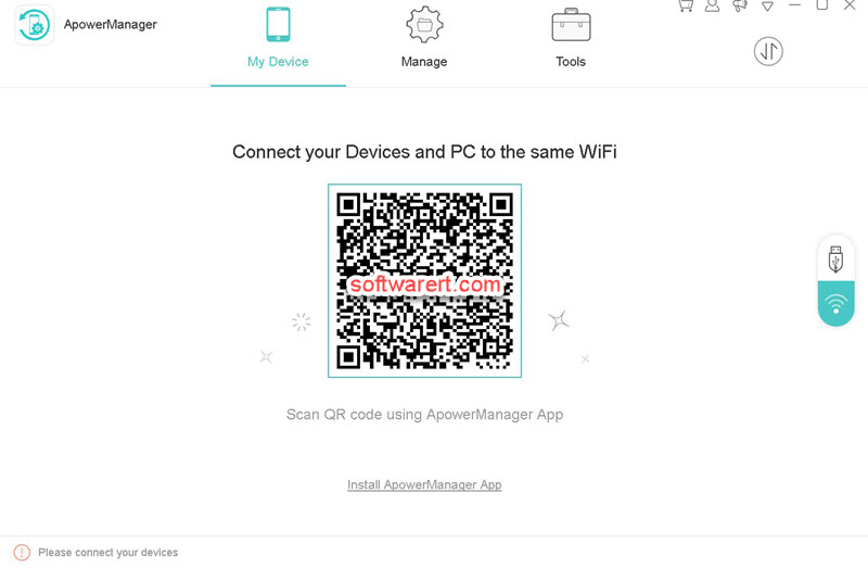 Backup Android files, apps, data to computer through Wi-Fi