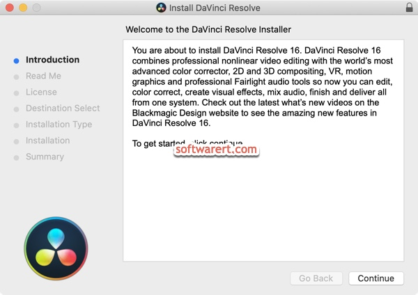 install DaVinci Resolve for free on Mac