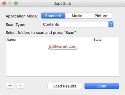 Finding duplicate files using dupeGuru for Mac