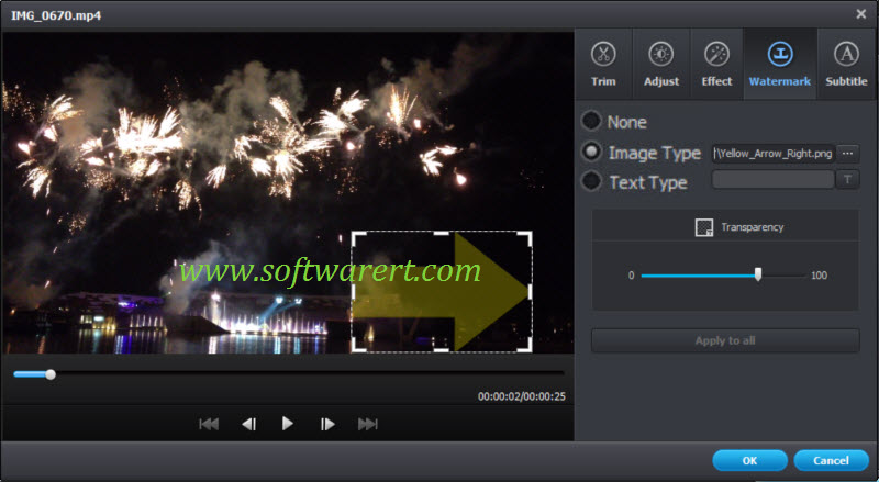 add image watermark to video