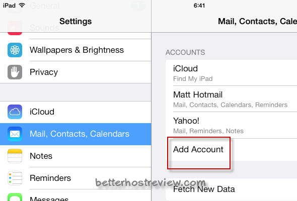 How to Add Additional Email Accounts to iPad Mini?