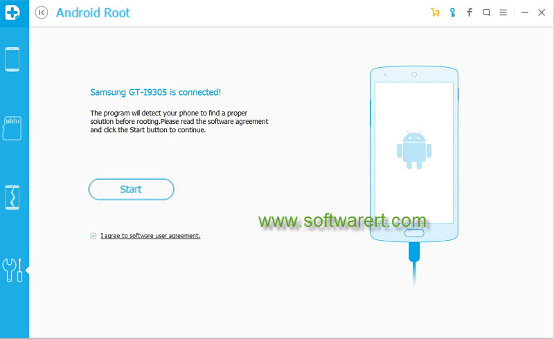 Root Android phone using Android Root for PC
