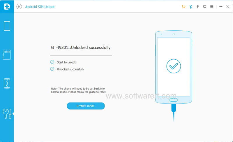 android sim unlock success
