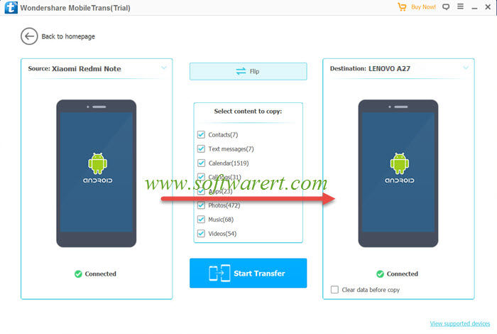 How to batch transfer data between Xiaomi and Lenovo mobile phones?