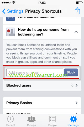 How To Block People On Facebook Messenger For Iphone