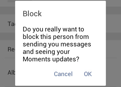 how to call someone who blocked you on android