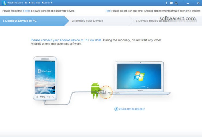 connect android mobile to pc USB port