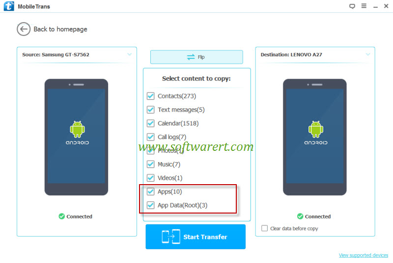 Transfer App and Game data from Android to Android