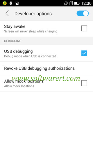 How to enable USB debugging on Lenovo phone?