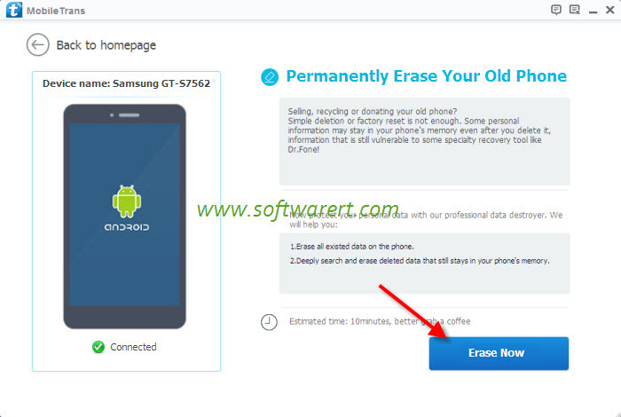 delete all data from samsung phone